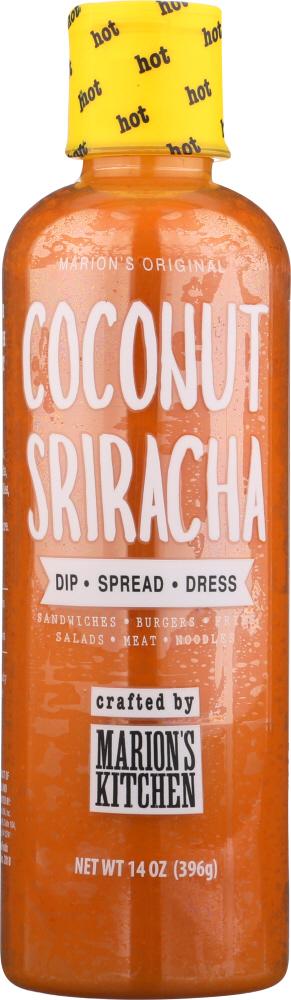 Marions Kitchen Sauce Cooking Coconut Sriracha 14 Oz My Green Detox