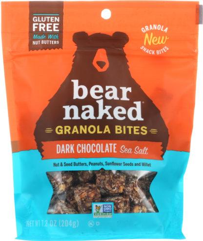 Bear Naked Granola Bites Snacks Dark Chocolate and Sea